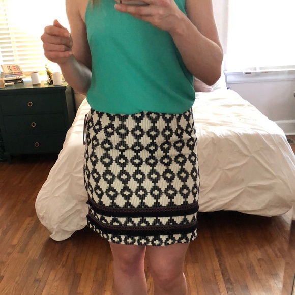 12a72163a0f1 Jacquard Patterned Skirt - Merona (Target) Size 10